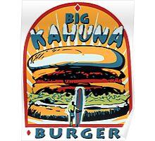Big Kahuna Burger Fiction Poster