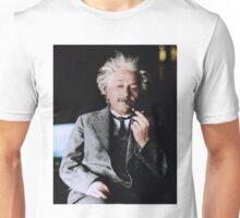 Albert Einstein Color s Pipe Unisex T-Shirt