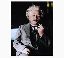 Albert Einstein Color s Pipe Unisex T-Shirt