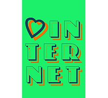 Heart Internet Photographic Print