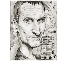 9th Doctor by Sheik Photographic Print