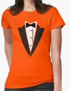 Hilarious Tuxedo Womens Fitted T-Shirt