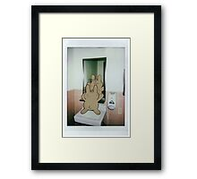 Haircut Framed Print