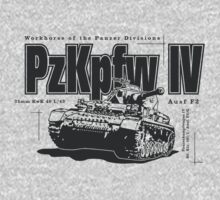 Panzer IV One Piece - Long Sleeve