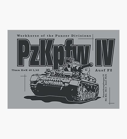 Panzer IV Photographic Print