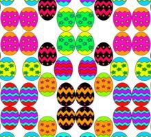 Easter Egg Pattern Sticker