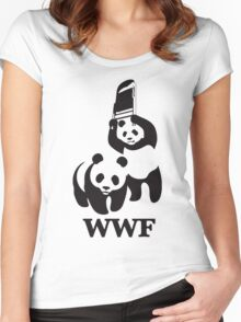 panda wwf Women's Fitted Scoop T-Shirt