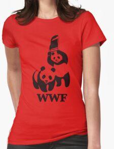 panda wwf Womens Fitted T-Shirt
