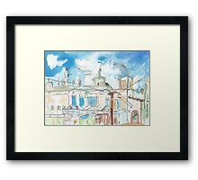 Summer Hill - Building Study Framed Print