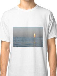 Photography of Burj al Arab hotel at the sea from Dubai, UAE. Classic T-Shirt