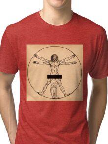 Vitruvian Man Tri-blend T-Shirt