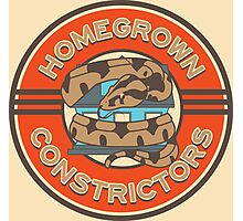 Homegrown Constrictors logo Photographic Print
