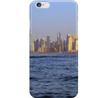Photography of tall buildings from Dubai Marina, UAE. iPhone Case/Skin