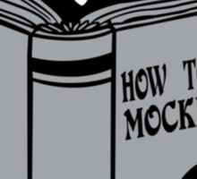 How To Kill a Mockingbird Sticker