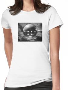 Universal - Old Logo Womens Fitted T-Shirt