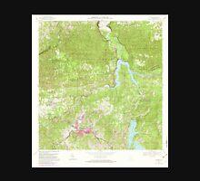 USGS TOPO Map Puerto Rico PR Utuado 362286 1972 20000 Unisex T-Shirt
