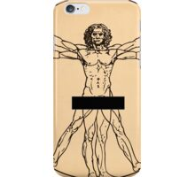 Vitruvian Man iPhone Case/Skin
