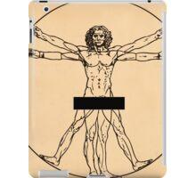 Vitruvian Man iPad Case/Skin