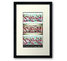 .SRQ - Classic OG Fade Out Framed Print