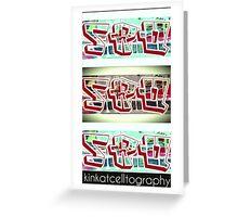 .SRQ - Classic OG Fade Out Greeting Card