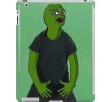 'Just Do It' Pepe iPad Case/Skin
