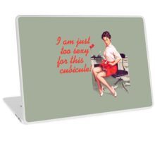Sexy Office Pin-Up Mouse Pad Laptop Skin