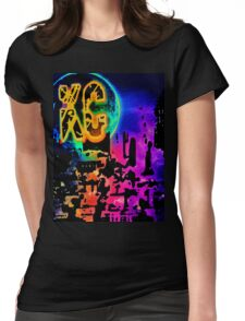 KC Spectrum. Womens Fitted T-Shirt