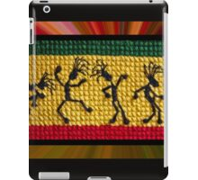 og lively reggae dancers iPad Case/Skin