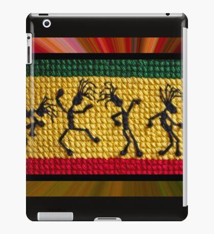 og lively reggae dancers iPad Case/Skin