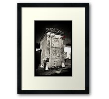 Marie Laveau's Tomb Framed Print