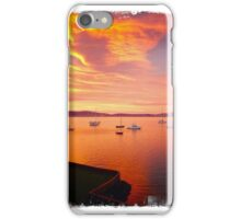Sunset Hobart iPhone Case/Skin