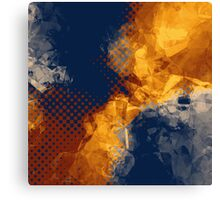 poly galaxy Canvas Print