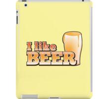 I LIKE BEER (with pint) iPad Case/Skin