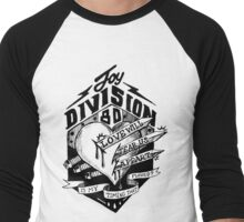 SONG LYRIC : LOVE WILL TEAR US APART Men's Baseball ¾ T-Shirt