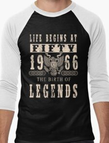 1966 Men's Baseball ¾ T-Shirt