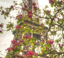 Budding Eiffel Sticker