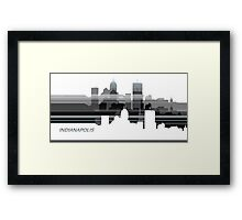Indianapolis lines 1 Framed Print