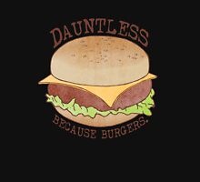 Dauntless - Because Burgers Zipped Hoodie