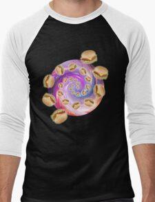 Spiral Galaxy of Burgers Men's Baseball ¾ T-Shirt