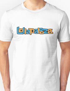 Lollapalooza Orange/Blue Logo  2016 T-Shirt