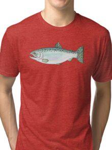 Coho Alaska Salmon Tri-blend T-Shirt