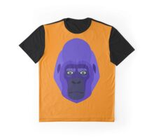 Gorilla head blue Graphic T-Shirt