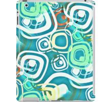 Retro Psychedelic Seamless Repeating Pattern iPad Case/Skin