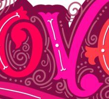 Love lettering Sticker