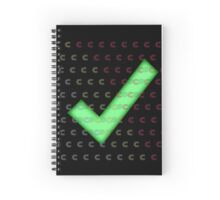 Nerd Check c# Spiral Notebook