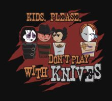 Don't Play With Knives Kids Tee