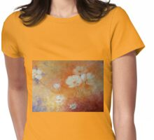WhiteFlower Womens Fitted T-Shirt