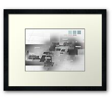 Architecture Concept Framed Print