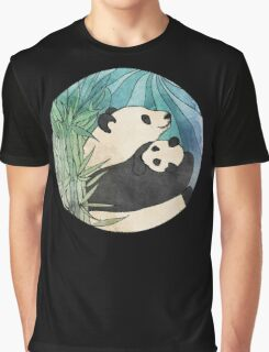 Panda Love Graphic T-Shirt