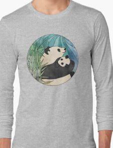 Panda Love Long Sleeve T-Shirt